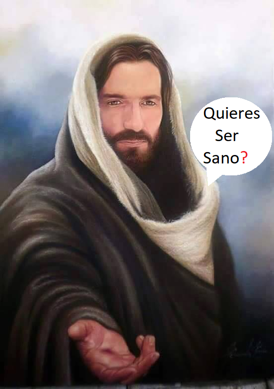 Jesús llega a tiempo Quieres ser Sano ahora