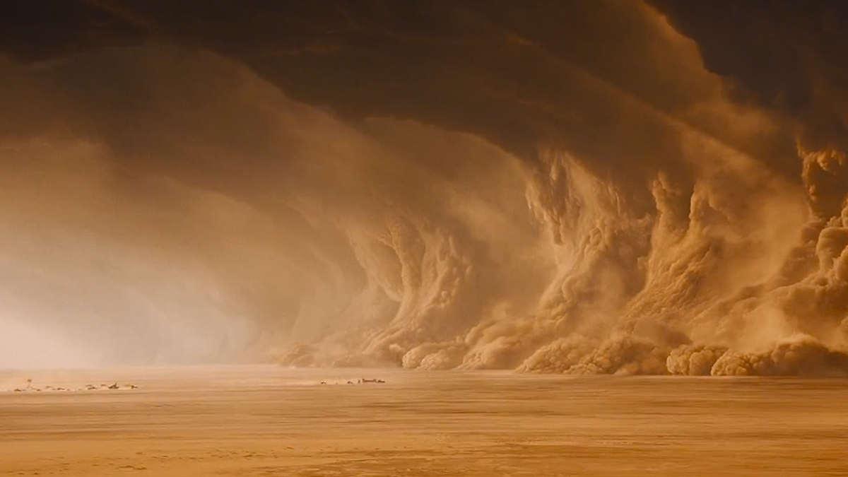 Video Viral Dios protege a su pueblo Israel de terroristas con una Nube de polvo como en Éxodo