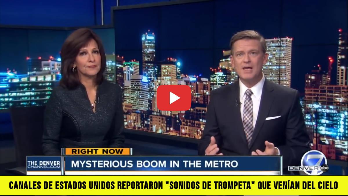 """Canales de Estados Unidos Reportaron """"Sonidos de Trompeta"""" que venían del Cielo"""