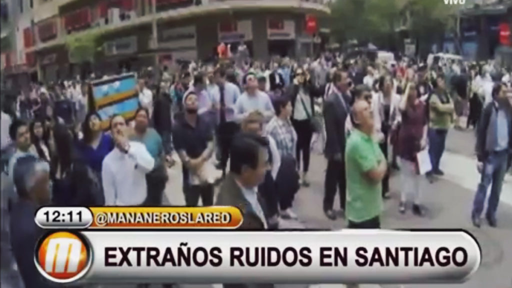 Trompetas del Apocalipsis Más de 200 personas escuchan la llamada en Chile (Vídeo)