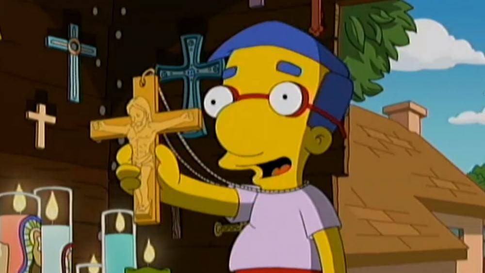 En Los Simpson se burlan del Cristianismo y la llaman