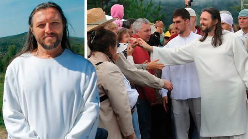 Personaje dice ser la reencarnación de Jesús