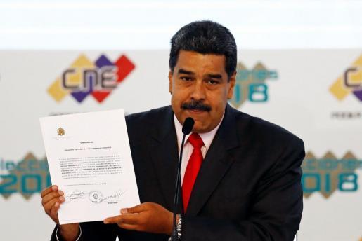 nicolas maduro presidente de venezuela