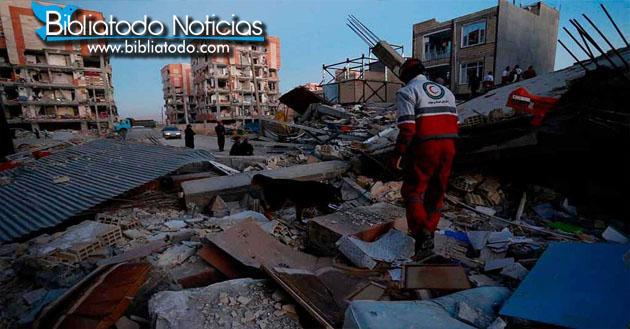 Terremoto retumba a Irán