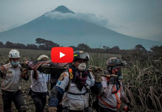 Famoso Profeta había publicado en un video la profecía Volcán de Fuego en Guatemala