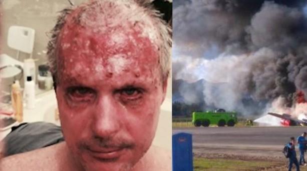 Piloto de aeronave que explotó dice Lo único que tenìa era la presencia de Dios