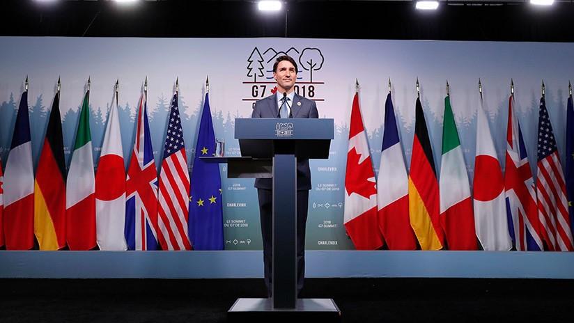 primer ministro de canadá critica a Estados Unidos