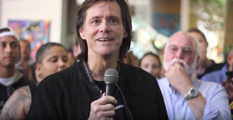 Jim Carrey se convierte a Cristo y predica sobre la salvación