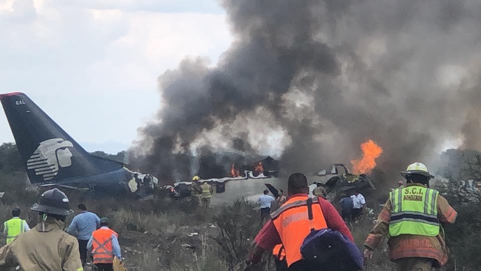 Cuando invoqué a Jesucristo el avión se detuvo dice pastor que sobrevivió al accidente de Durango