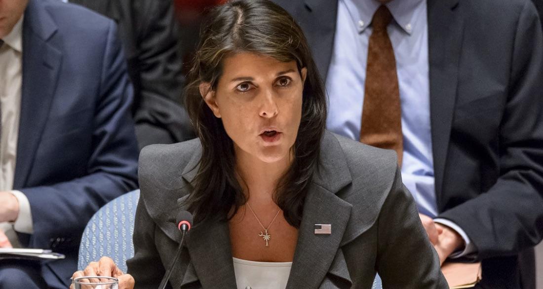 La embajadora de EE UU En la ONU dice que su fe en Jesús la hace defender a Israel