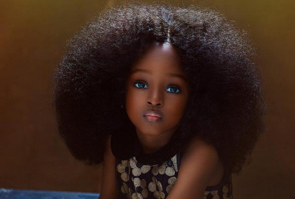 nigeria niña mas bella del mundo