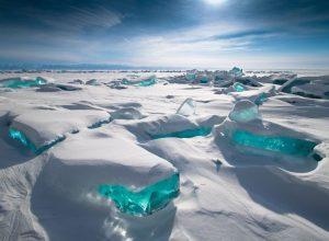 El Lago Baikal en Siberia
