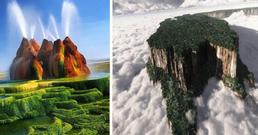 Los lugares más fascinantes del mundo