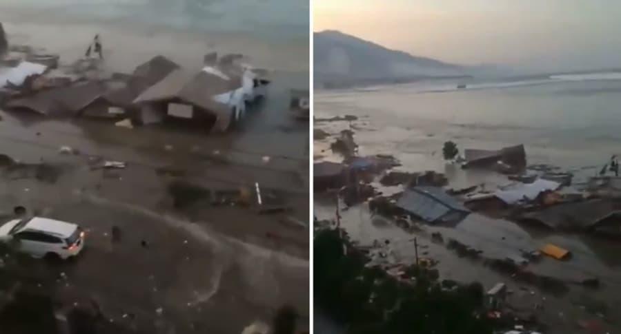 Indonesia desbastada por Terremoto y tsunami