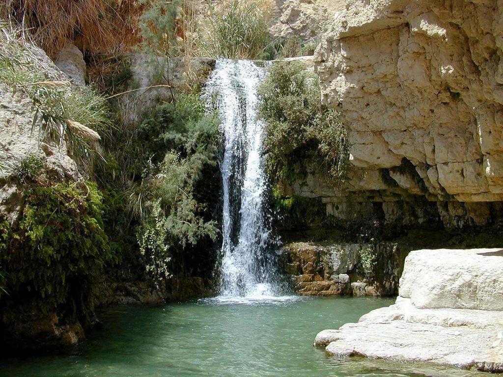 La Cascada Del Rey David El lugar donde el Rey David encontró refugio