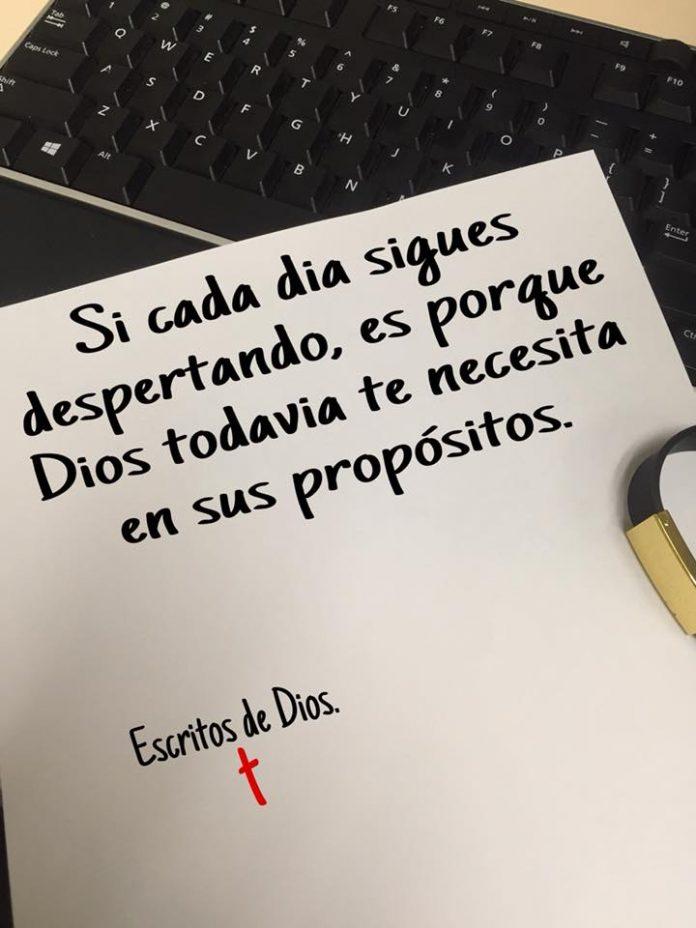 Dios te necesita en sus propósitos