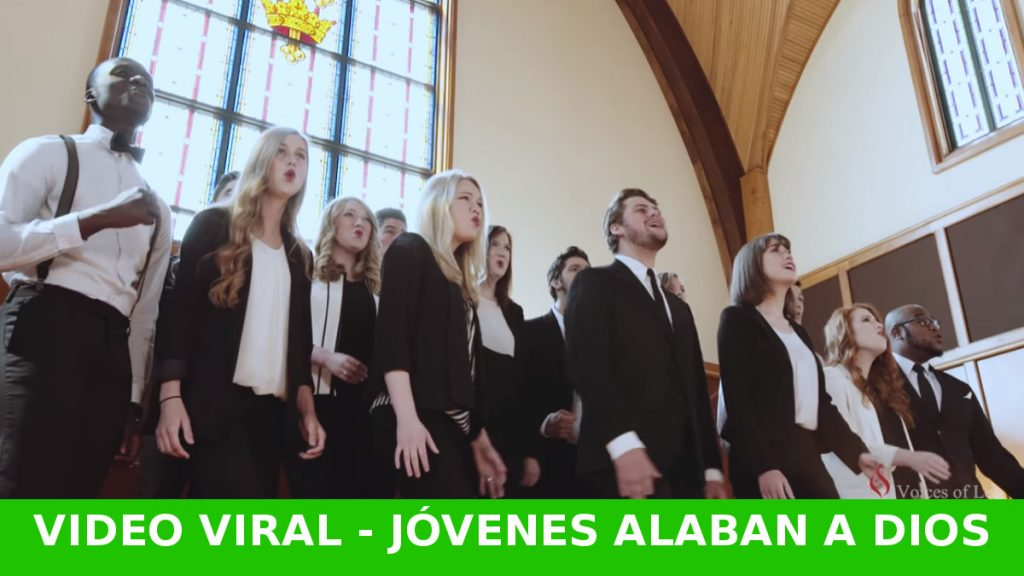 Un grupo de estudiantes alaban a Jesús y causan conmoción en las redes sociales