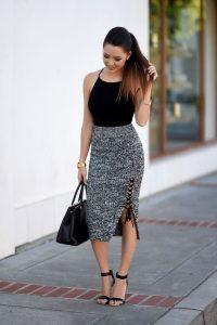 faldas bonitas para vestir bien