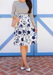 faldas juveniles para ocaciones y para ir a la iglesia
