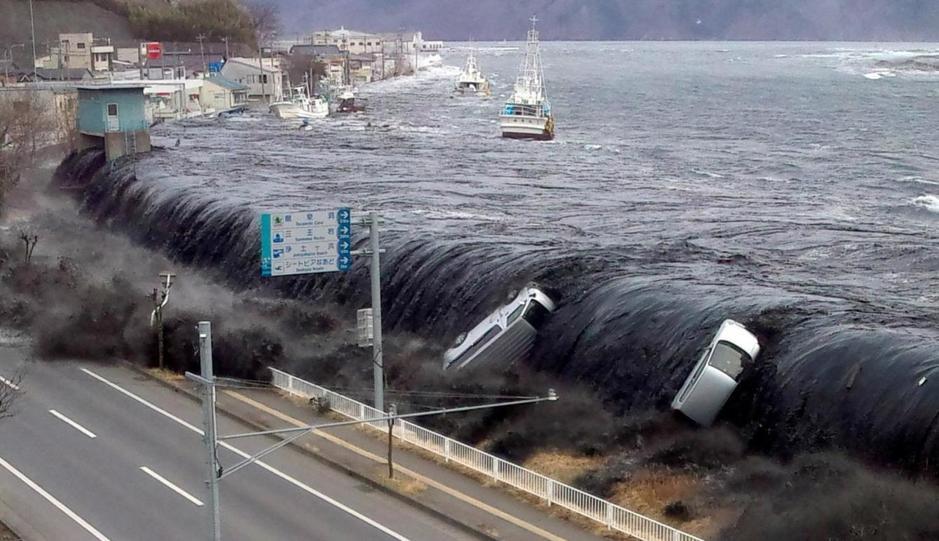 tsunamis devastadores en todo el planeta