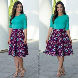 faldas muy elegante para ocaciones y para ir a la iglesia