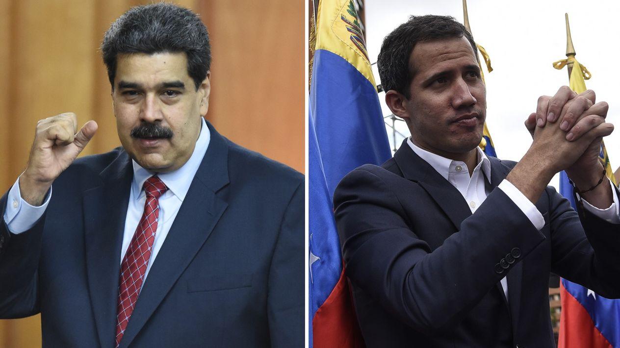Dos presidentes en Venezuela