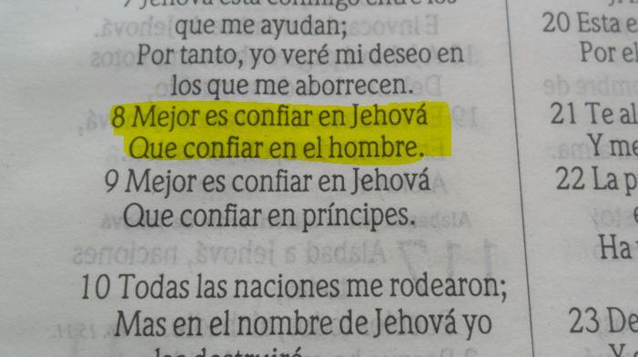 Salmos 118 8