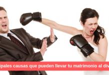 Principales causas que pueden llevar tu matrimonio al divorcio