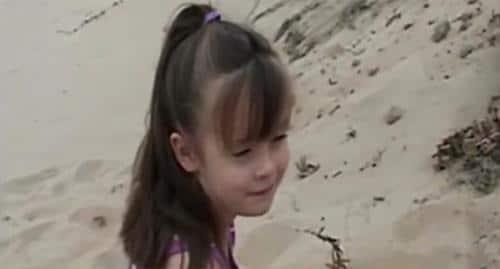 cuando jugaba en la arena