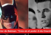 actor Batman el poder de la Oración