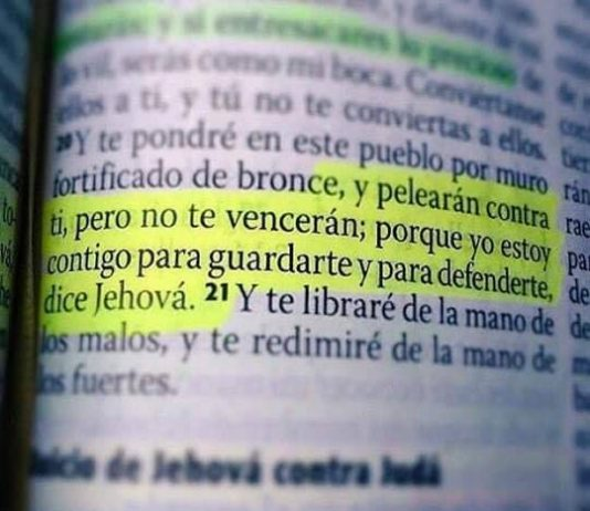 Jeremías 15 20-21