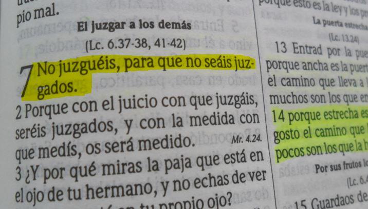 Mateo 7:1