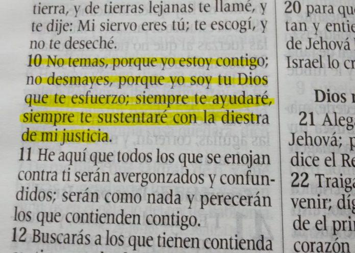 Isaías 41: 10