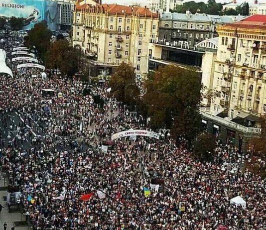 Más de 500 mil cristianos se reúnen para alabar a Dios en Ucrania