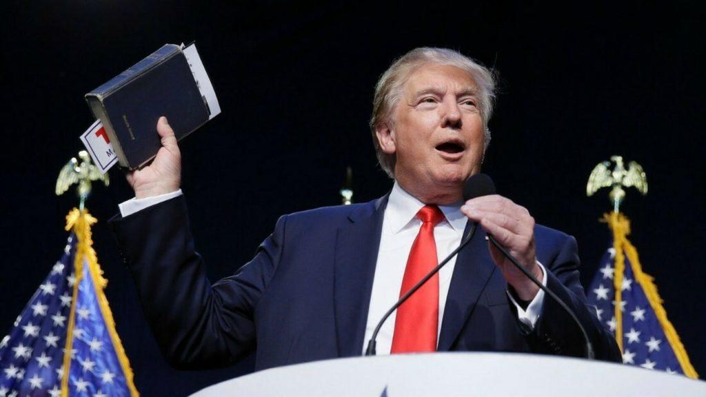 Donald Trump La Biblia Estados Unidos