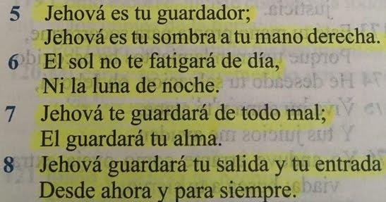 Salmos 121-8 una promesa de Dios para ti