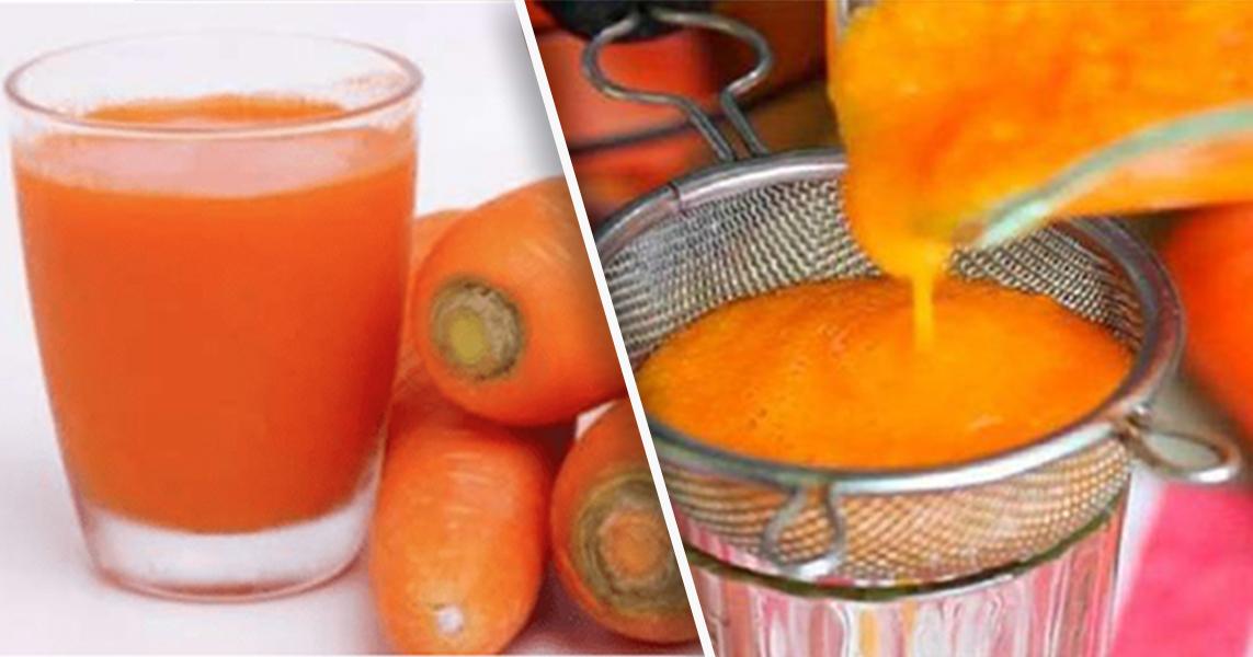 Zanahoria - limón y miel - sacará la gripe - sanará la tos y limpiará tus pulmones de la flema - prepáralo de esta forma