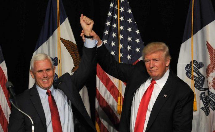 El Vicepresidente de los Estados Unidos Mike Pence dijo Si nos humillamos y oramos Dios sanará Nuestra tierra