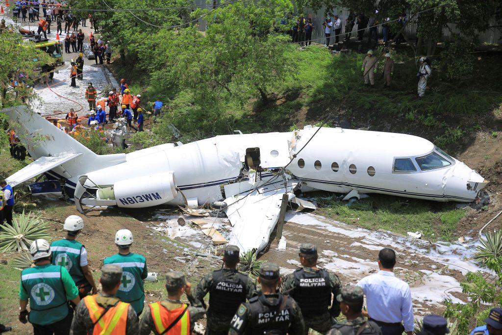 avión misioneros en hondura