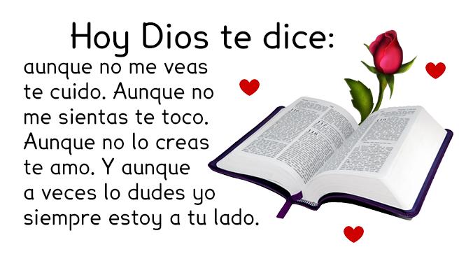 Hoy Dios dice