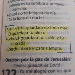 Salmos 121 Jehová te guardará