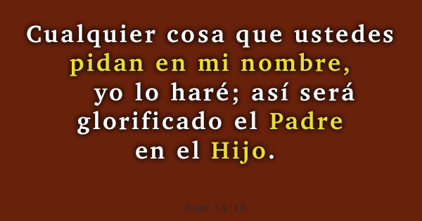 Juan 14 - 13
