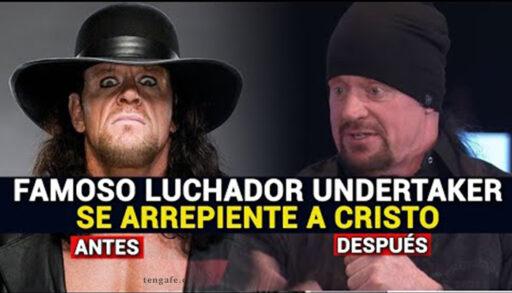 famoso luchador de la WWE the undertaker se convierte a Cristo y habla de su fe en Dios